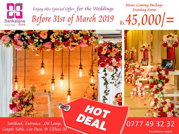 Sankalana Flora Wedding Floral Arrangements